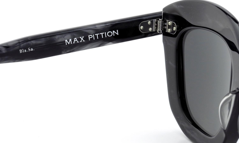 MAX PITTION マックス・ピティオン サングラス Politician ポリティシャン 49size Bla.Sa. Lense:Solid-Grey
