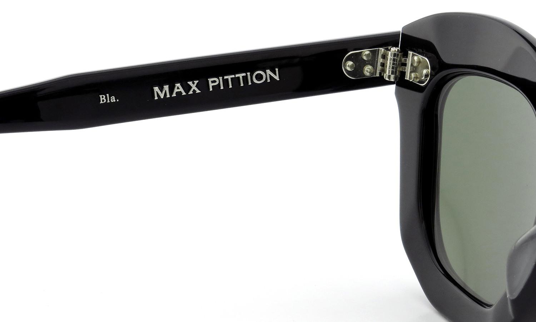 MAX PITTION マックス・ピティオン サングラス Politician ポリティシャン 45size Bla. Lense:G15
