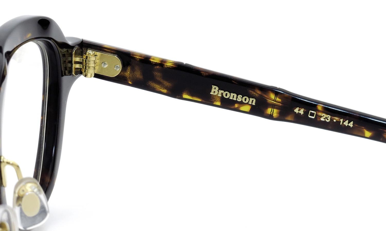 MAX PITTION マックス・ピティオン メガネ [MAP COLLECTION] Bronson ブロンソン 44size D.Brn.Trt.
