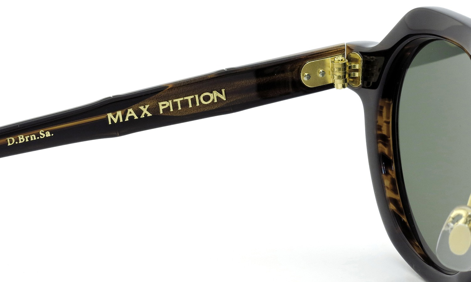 MAX PITTION マックス・ピティオンサングラス [MAP COLLECTION] Diplomat ディプロマット 44.6size D.Brn.Sa.