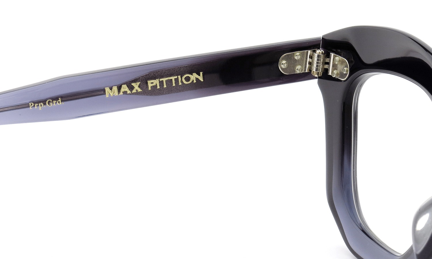MAX PITTION メガネ Politician ポリティシャン 45size Purple Gradation