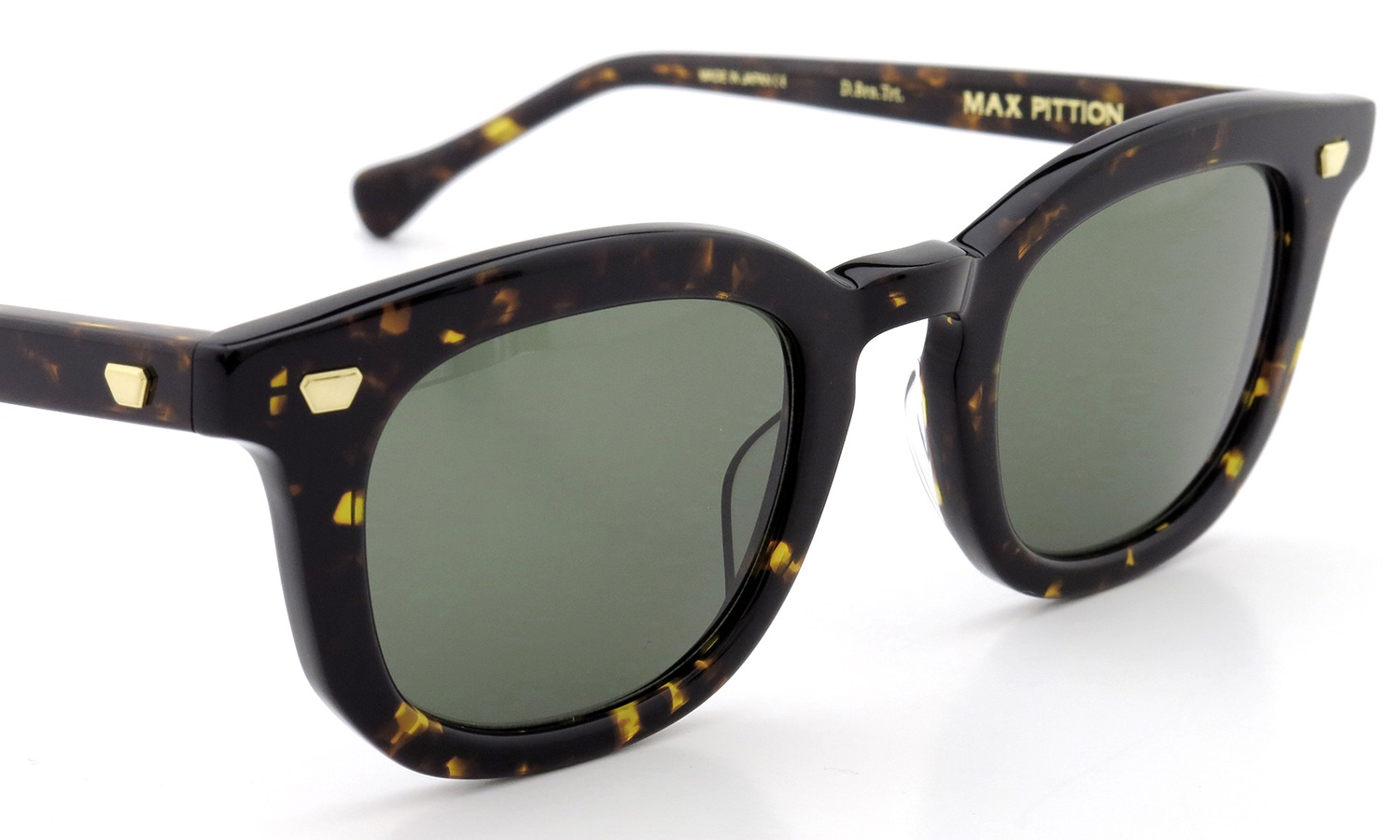 MAX PITTION サングラス [MAP COLLECTION] Livingston 47size D.Brn.Trt. Lense:G15