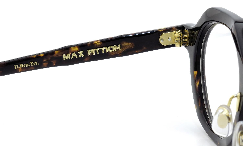 MAX PITTION マックス・ピティオン メガネ Diplomat ディプロマット 44.6size D.Brn.Trt.