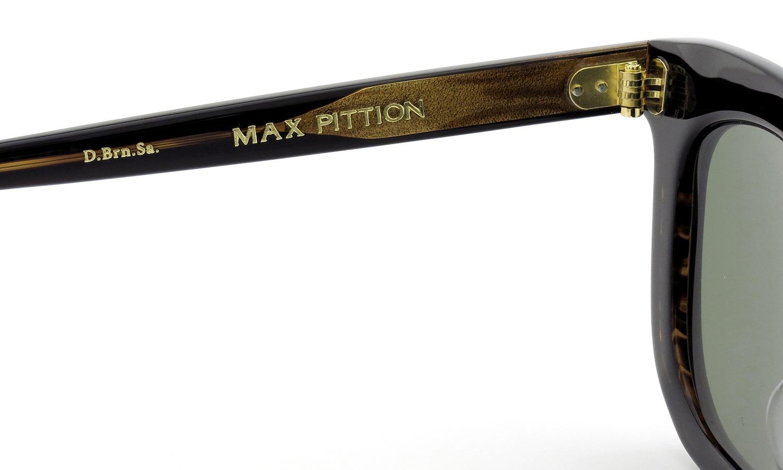 MAX PITTION サングラス [MAP COLLECTION] Bigsby ビグスビー 47.7size D.Brn.Sa. Lense:G15