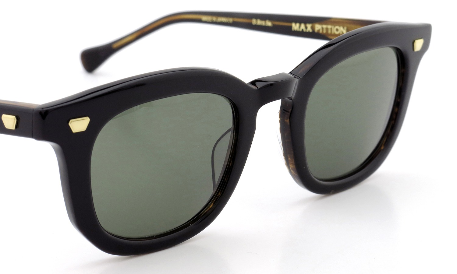 MAX PITTION サングラス [MAP COLLECTION] Livingston 47size D.Brn.Sa. Lense:G15