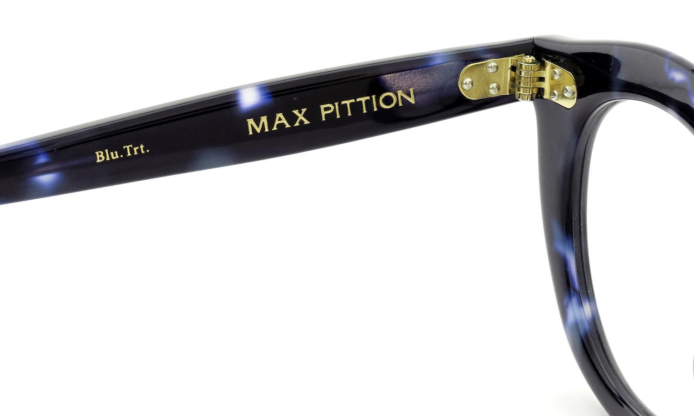 MAX PITTION マックス・ピティオン メガネ Maestro マエストロ 46size Blue Tortoise