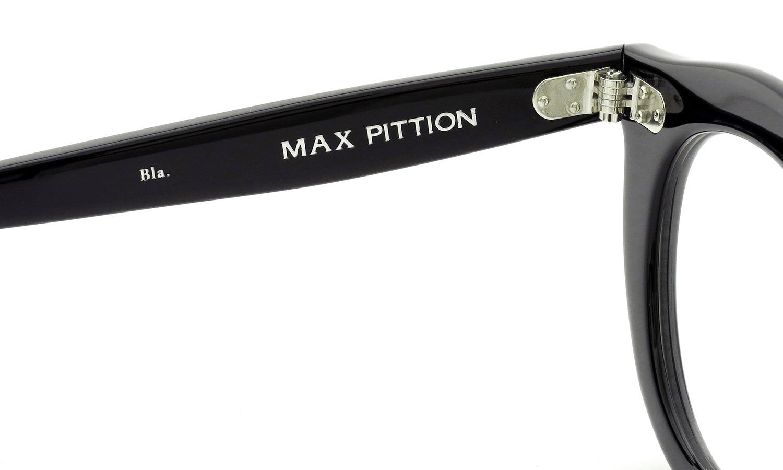 MAX PITTION マックス・ピティオン メガネ Maestro マエストロ 44size Bla.