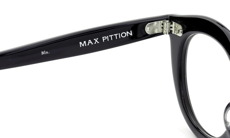 MAX PITTION マックス・ピティオン メガネ Maestro マエストロ 46size ブラック