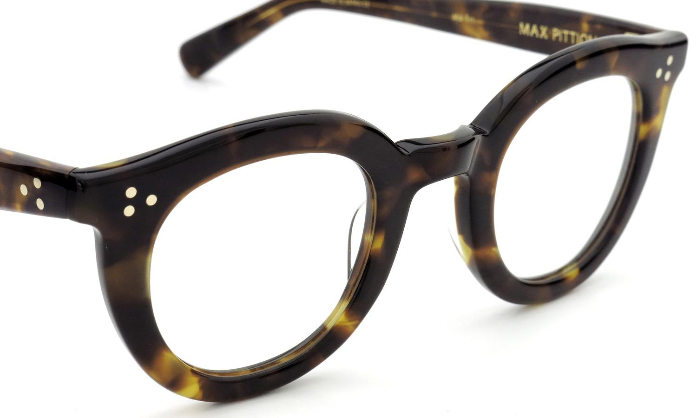 MAX PITTION マックス・ピティオン メガネ Maestro 44size Md.Trt(Calico Tortoise)