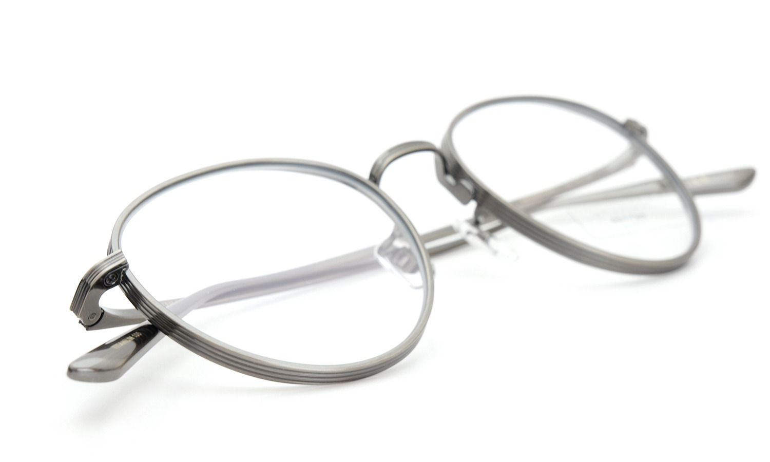 OLIVER PEOPLES × THE ROW メガネ BROWNSTONE col.AG 49size
