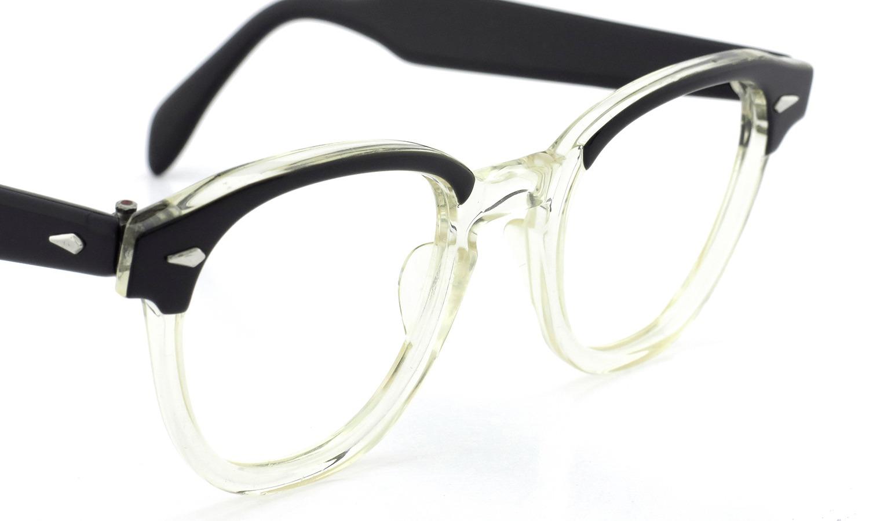 American Optica Vintage ヴィンテージ メガネ 推定1960年代 JAZZ BLACK CB-CLEAR 46-22