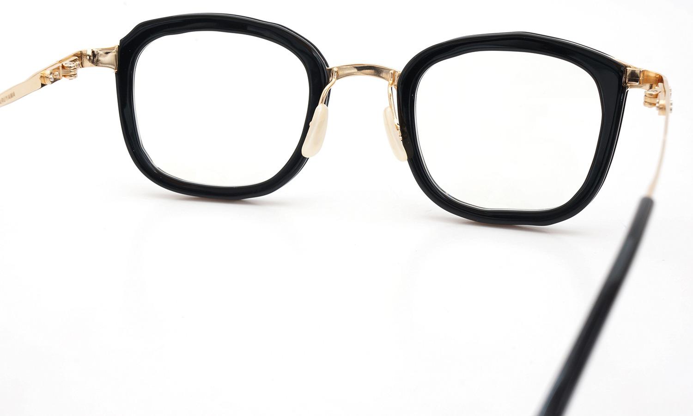 MASAHIROMARUYAMA マサヒロマルヤマ メガネ MM-0015 col.01 BLACK/GOLD(2 side)