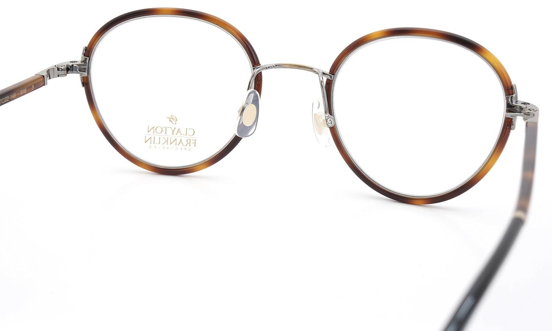 CLAYTON FRANKLIN 2016年春発表 最新作 メガネ 618 DM/BK