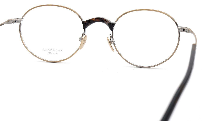 MASUNAGA メガネ GMS-108 #13 ATG/DEMI