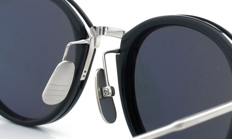 THOM BROWNE. サングラス TB-011-H-T 46size NVY-SLV