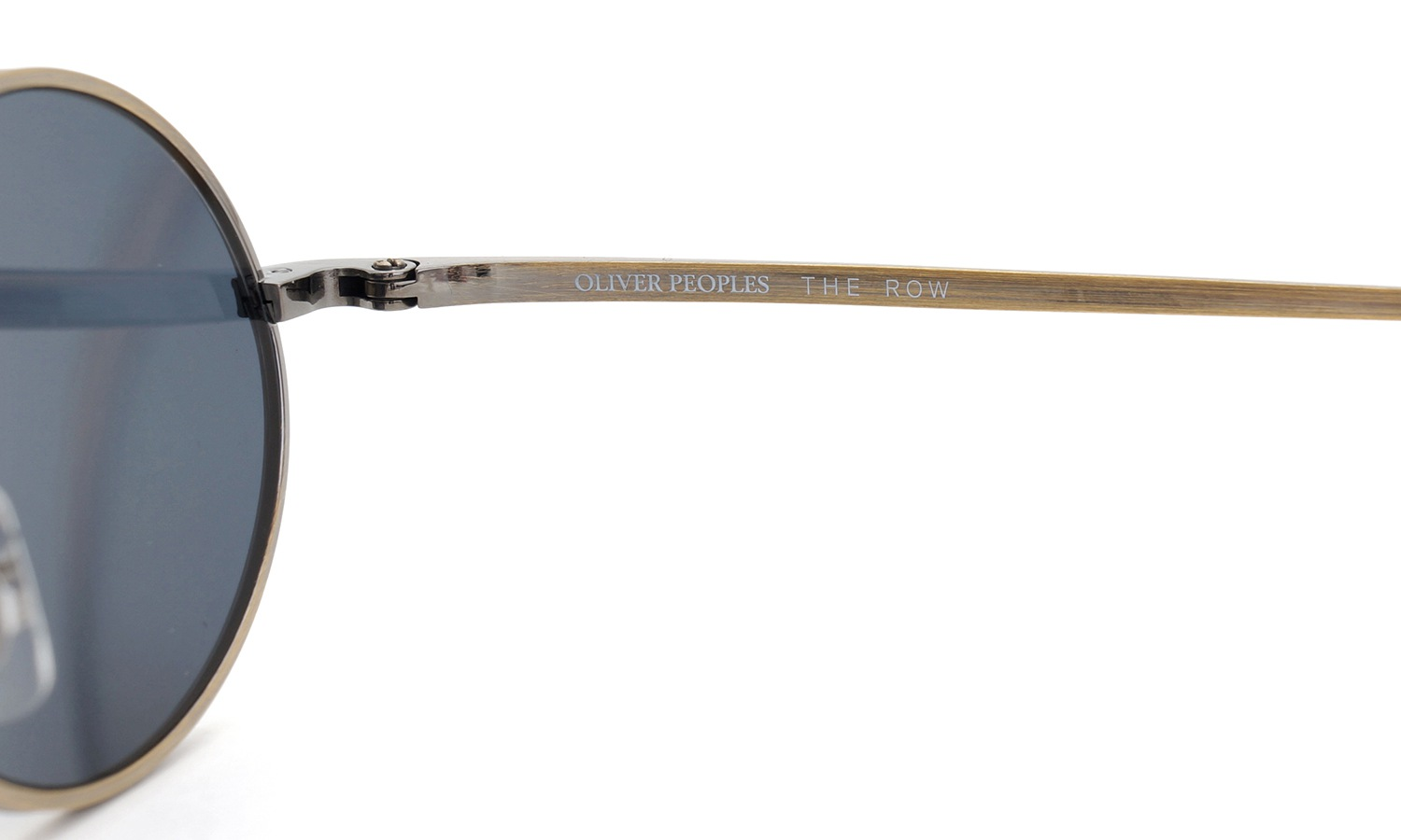 OLIVER PEOPLES × THE ROW サングラス EMPIRE-SUITE AG/BL 49size