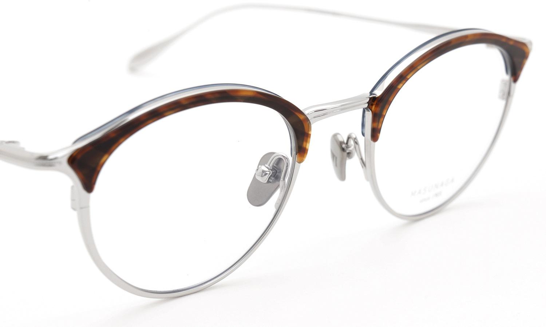 MASUNAGA メガネ GMS-108 #25 SLV/BLUE