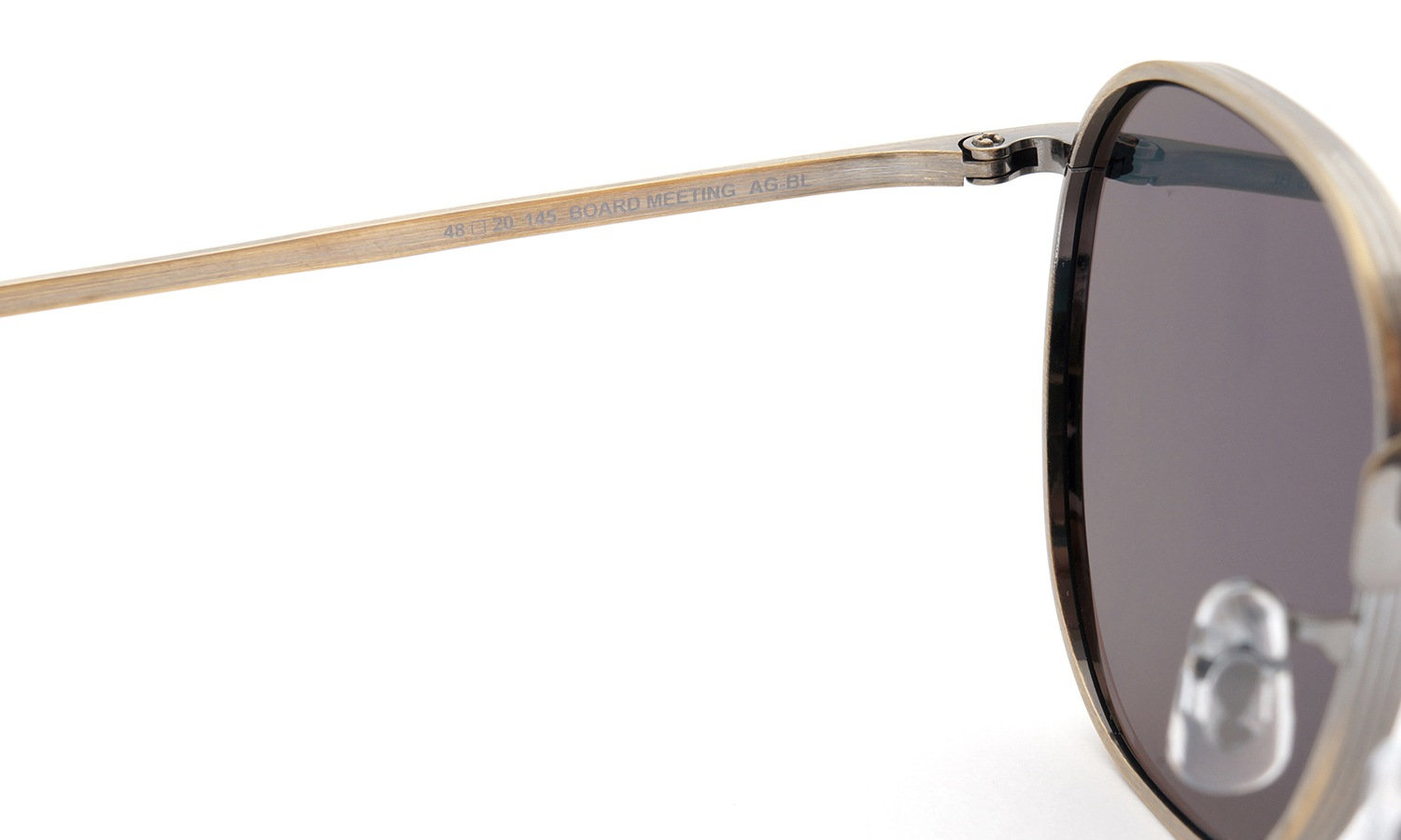 OLIVER PEOPLES × THE ROW サングラス BOARD-MEETING AG/BL 48size