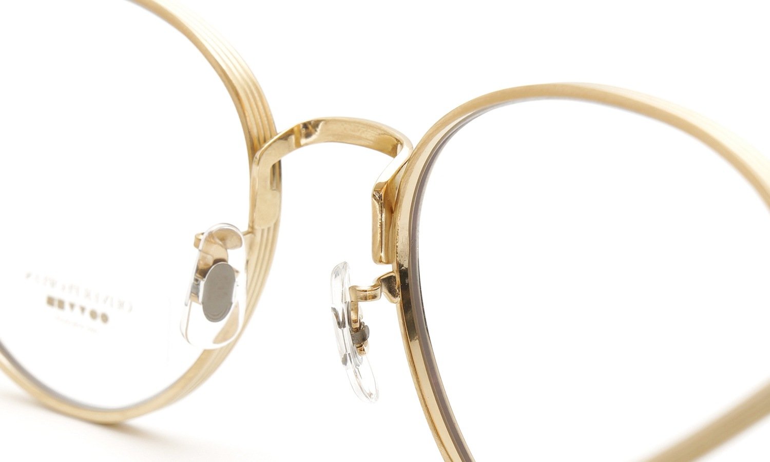 OLIVER PEOPLES × THE ROW メガネ BROWNSTONE col.BG 3