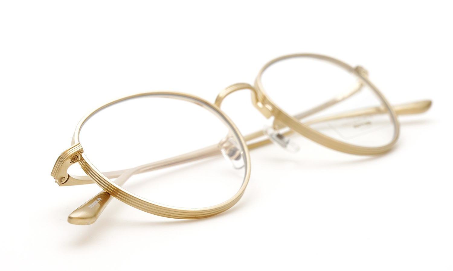 OLIVER PEOPLES × THE ROW メガネ BROWNSTONE col.BG 9