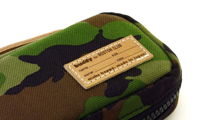 buddy for BOSTON CLUB メガネケース AC-16SS Camo