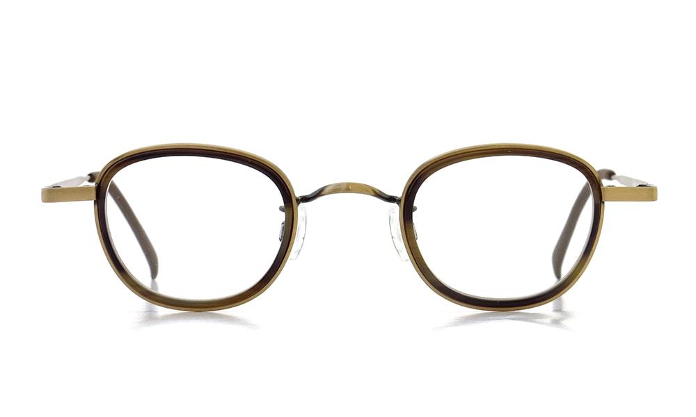 Preciosa mod.863 Antique Gold/Brown Horn