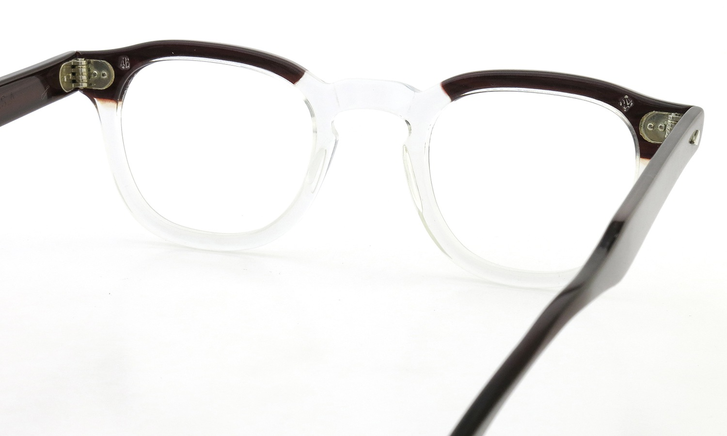 ART Optical vintage メガネ ARNEL REDWOOD C.B. 46-20
