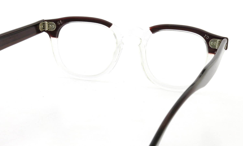ART Optical vintage メガネ ARNEL REDWOOD C.B. 46-24