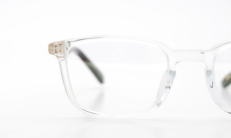 YELLOWS PLUS メガネ MAX C283 clear/dark turtle