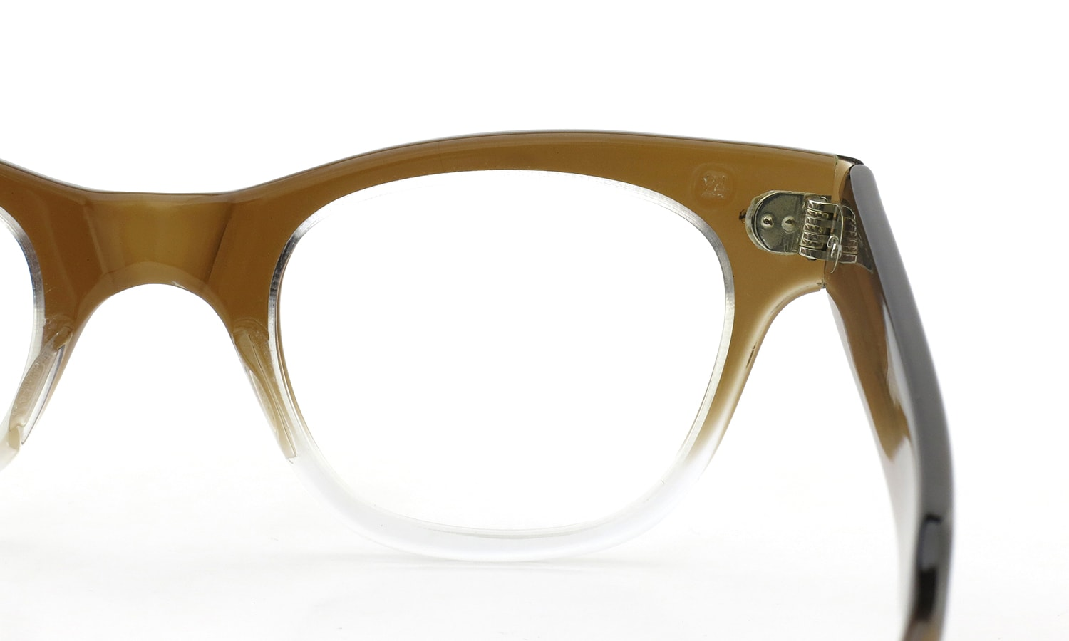<h2>TART OPTICAL vintage 1950年代 COUNTDOWN BROWN FADE 46-24 (V3)