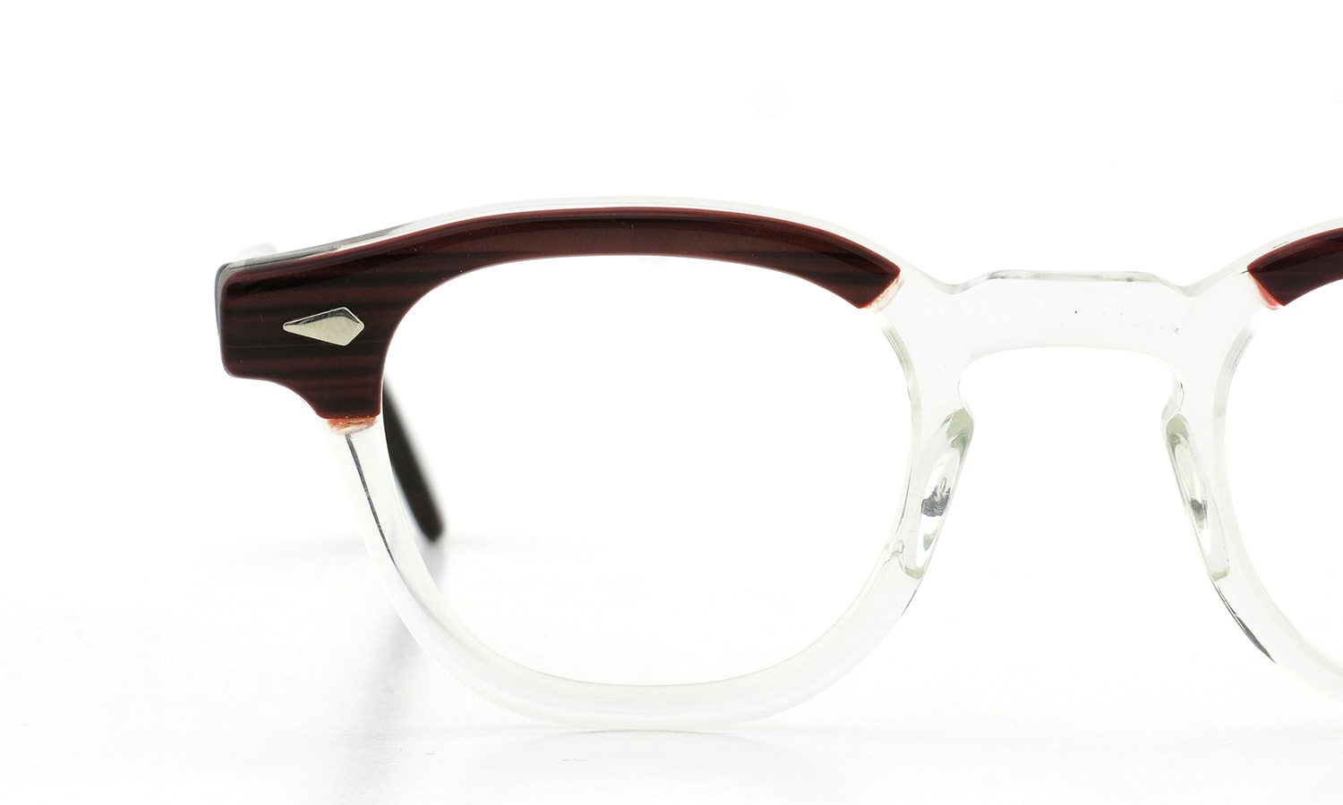 TART Optical vintage 通販 ARNEL REDWOOD C.B.-CLEAR 44-24 [04]