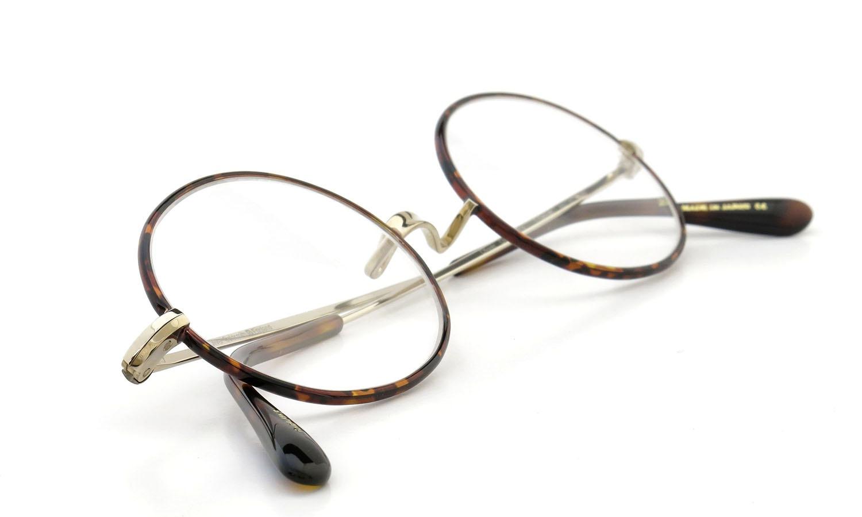 Oliver Goldsmith  ジョンレノン愛用のメガネ Oval/Pro Titanium Gold-MMS