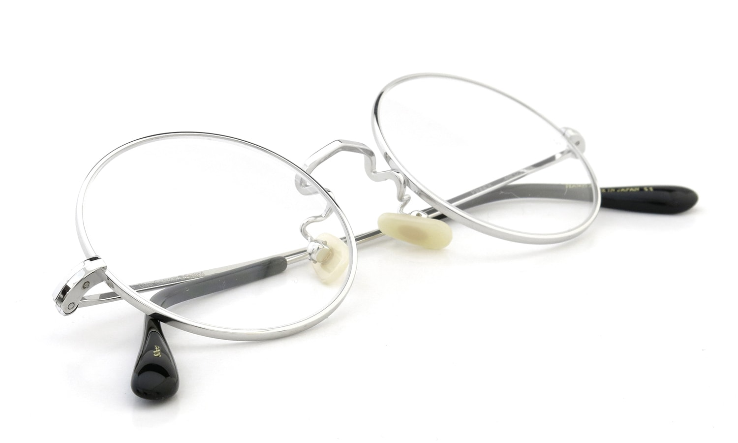 Oliver Goldsmith メガネ PINNER 48size Silver