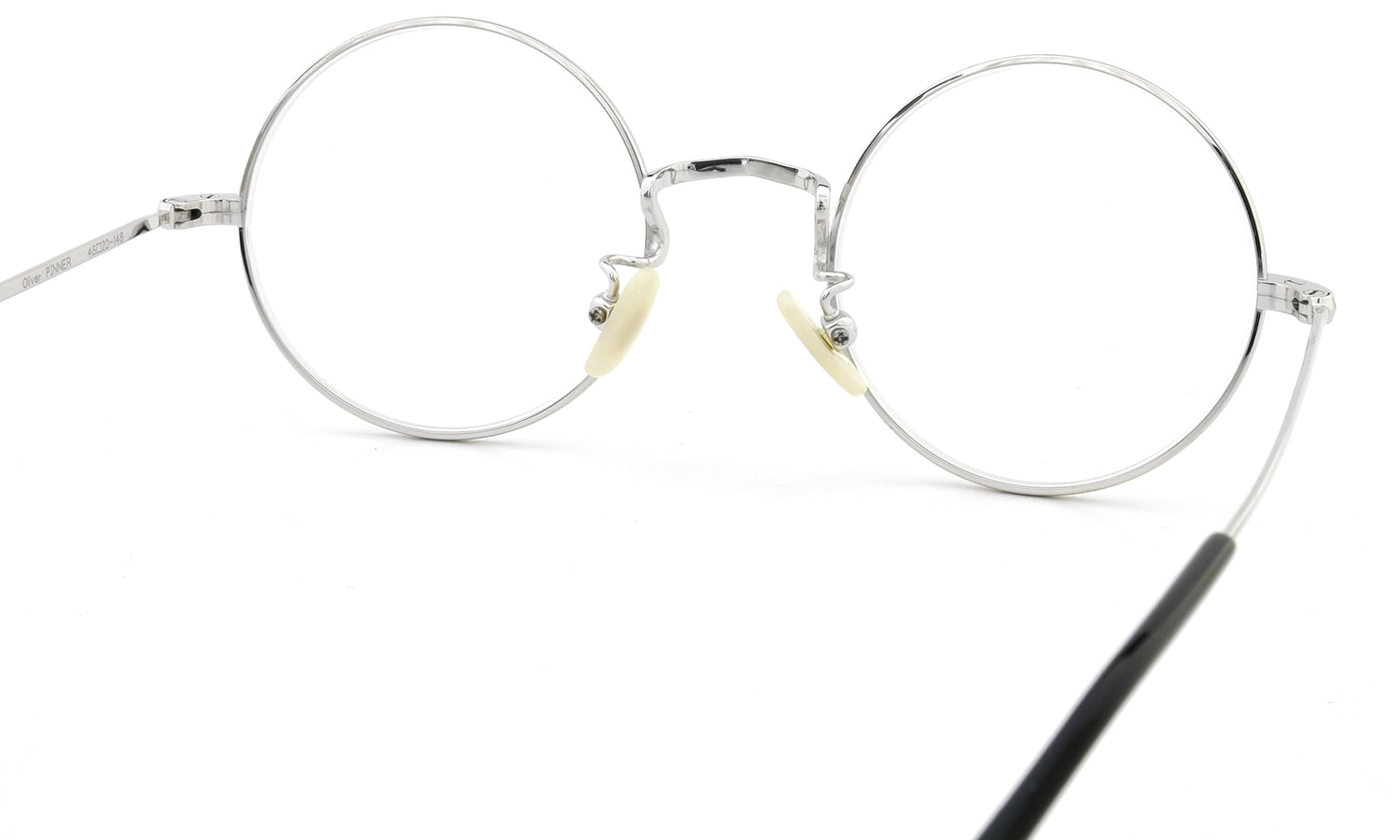 Oliver Goldsmith メガネ PINNER 46size Silver