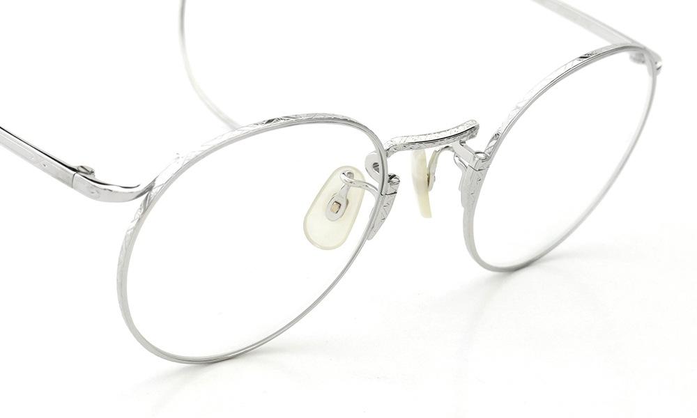 Oliver Goldsmith メガネ CHARLES 47-r Silver