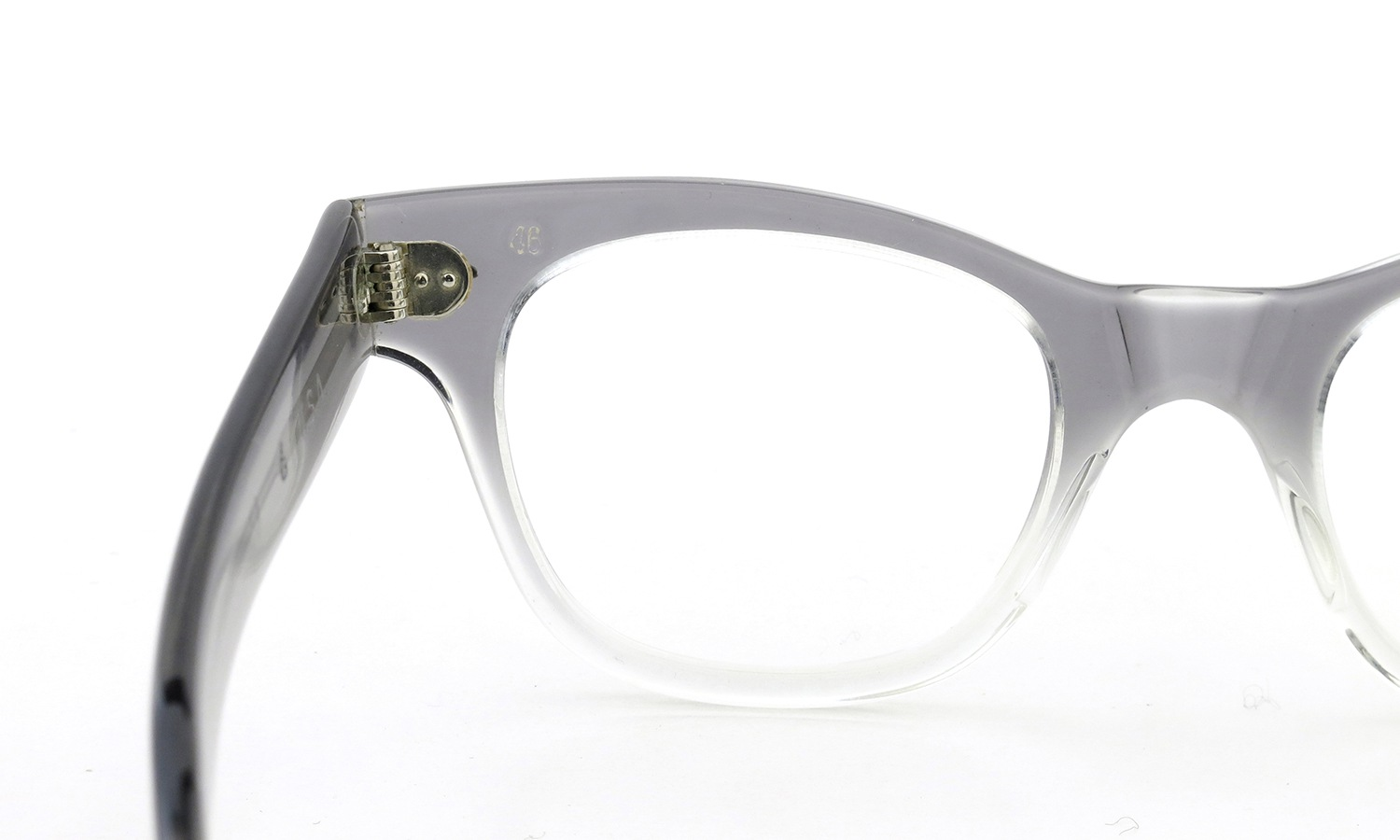 TART OPTICAL vintage COUNTDOWN GREY FADE 46-22 詳細画像