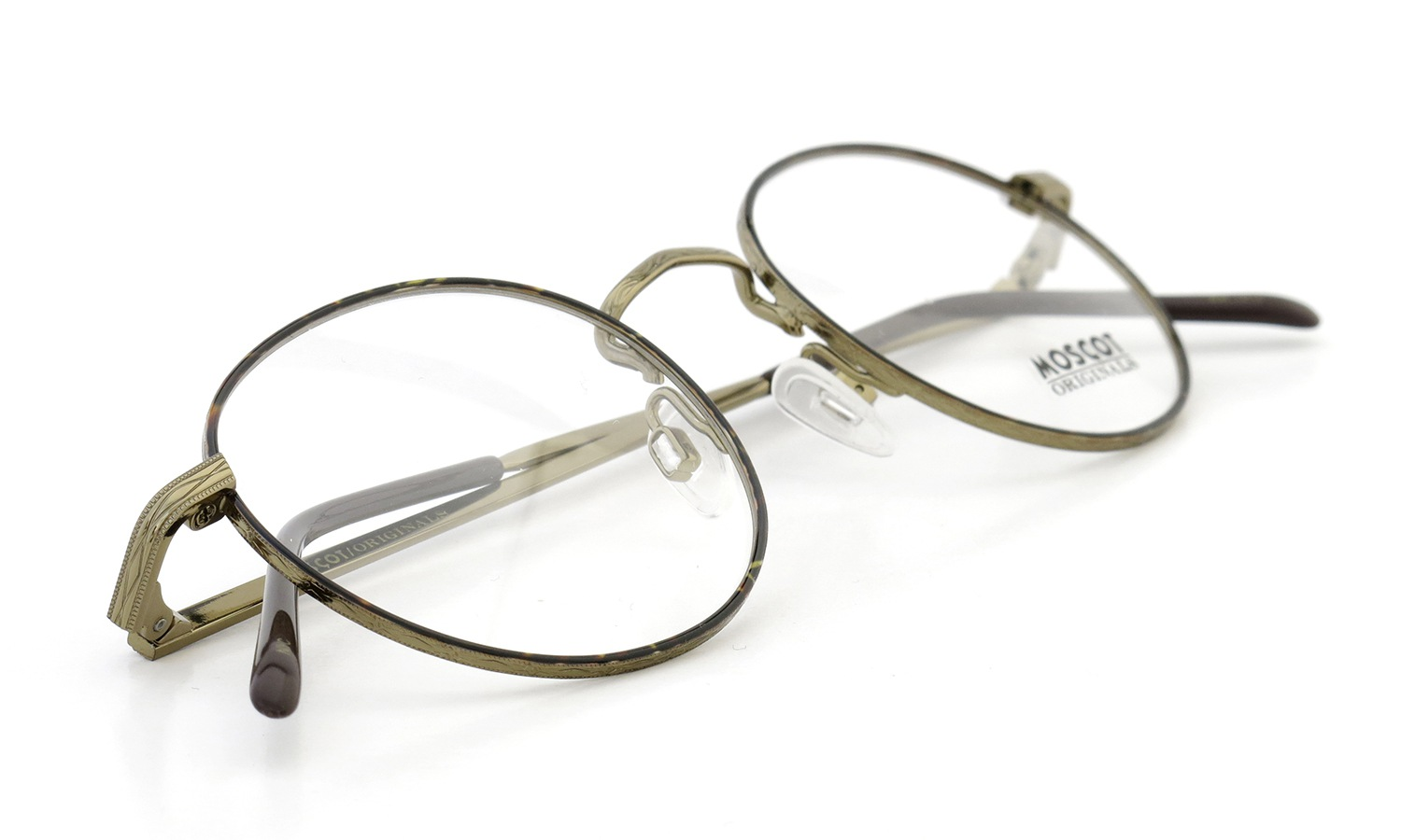 MOSCOT DOV Tortoise/Antique Gold