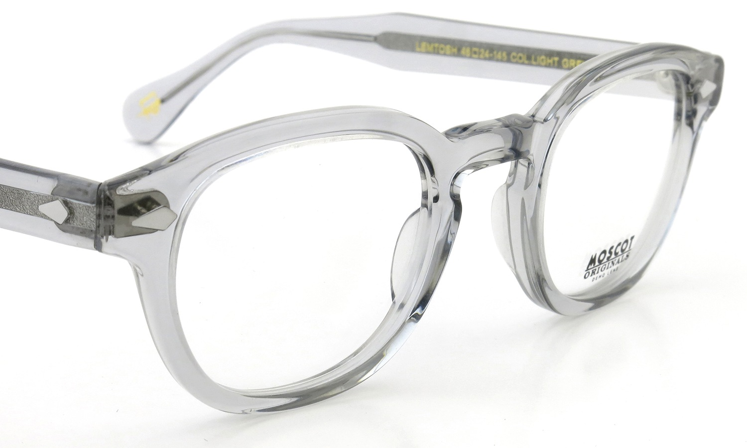 MOSCOT LEMTOSH LIGHT GREY 46