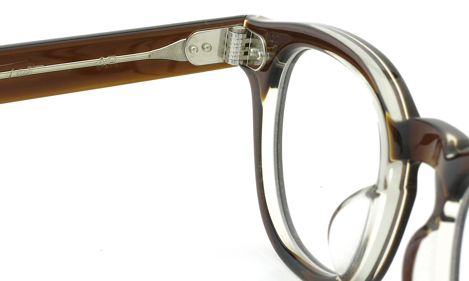 JULIUS TART OPTICAL AR-42 BROWN-CRYSTAL