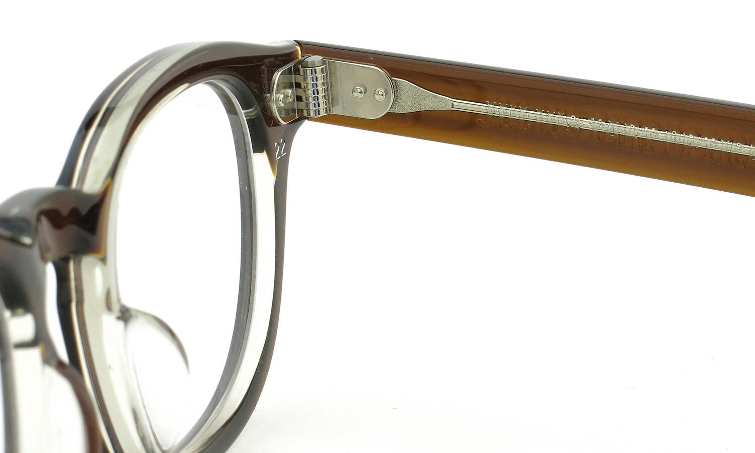 JULIUS TART OPTICAL AR-44 BROWN-CRYSTAL