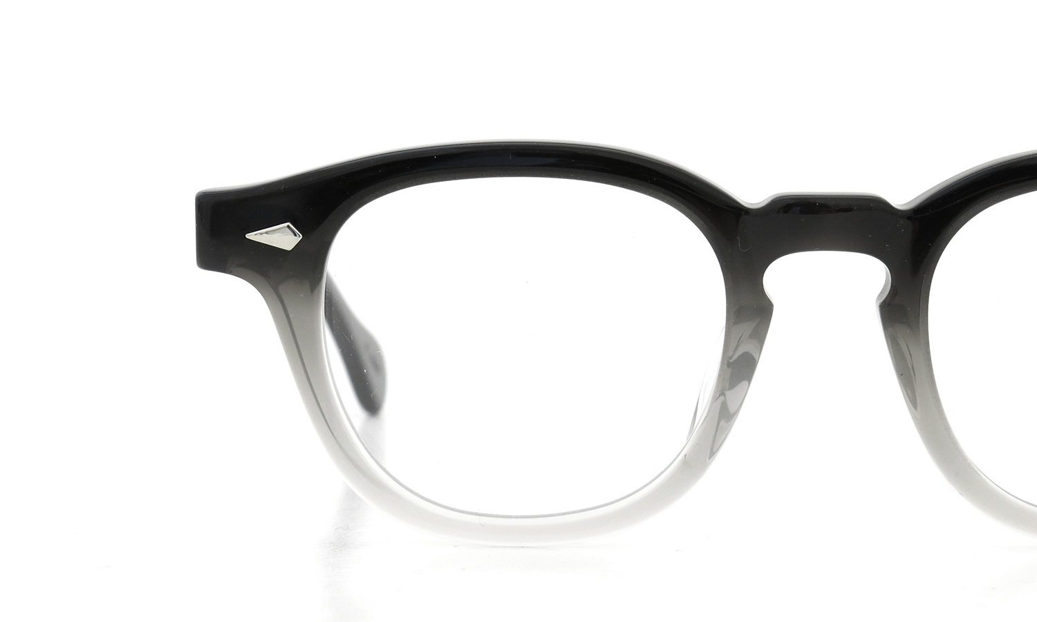 JULIUS TART OPTICAL AR-46 PL-002B BLACK CLEAR FADE