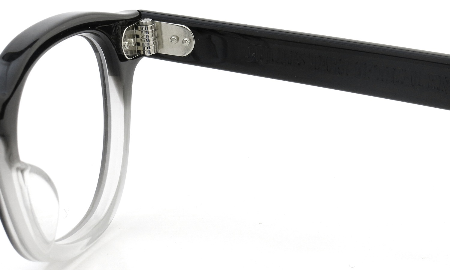 JULIUS TART OPTICAL AR-42 PL-009B BLACK CLEAR FADE