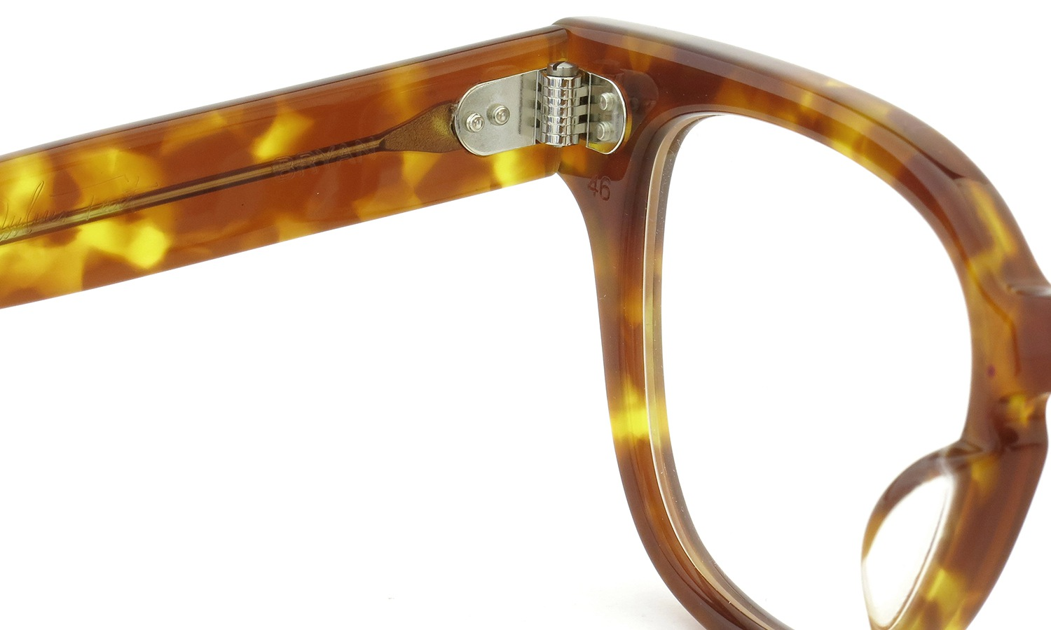 JULIUS TART OPTICAL BRYAN-46 PL-007F LIGHT TORTOISE