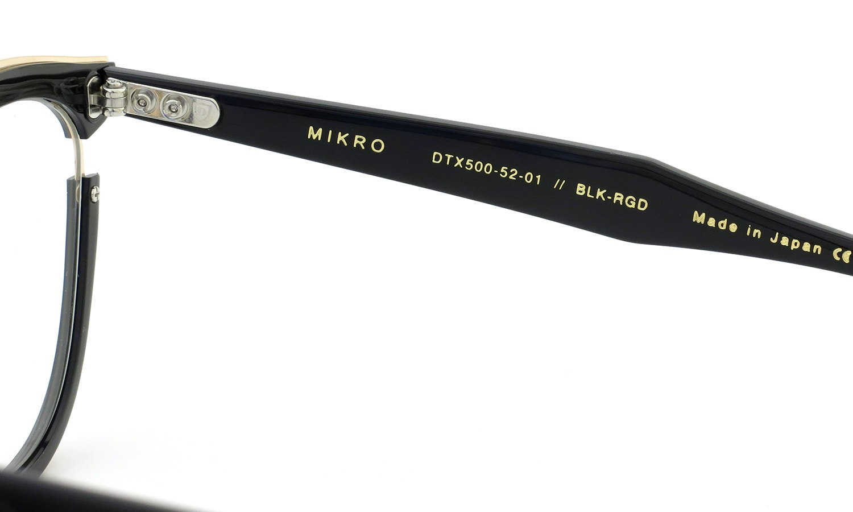DITA MIKRO DTX500-52-01 BLK-RGD
