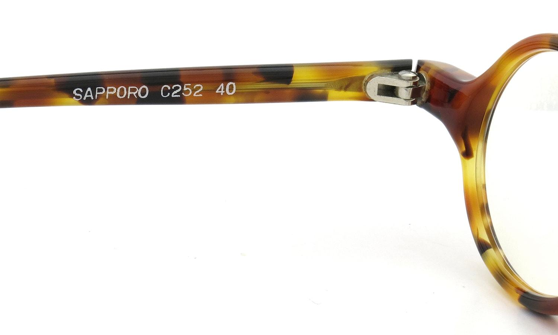 m.rochaix SMALL-OVAL TORTOISE SAPPORO C252 40