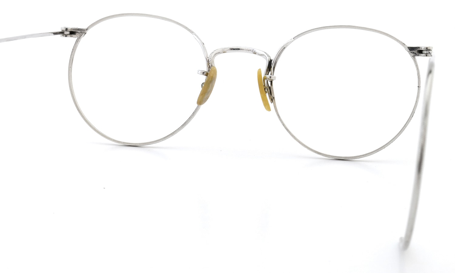 LOWRES OPTICAL 1930s~1940s BRACELEY 1/10 12KGF WHITE 42-20