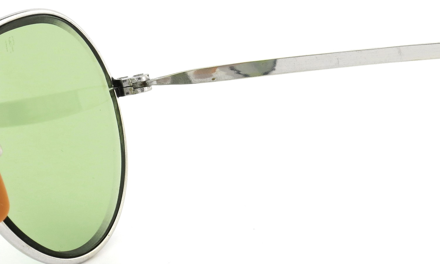 American Optical PANTO SILVER Bausch&Lomb-Green-Lense