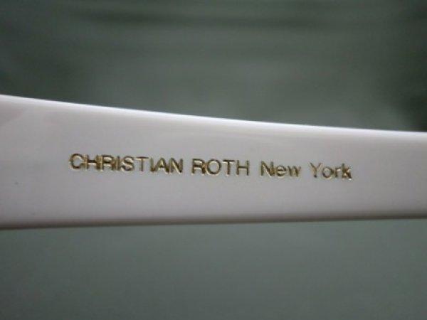 画像4: CHRISTIAN ROTH  ヴィンテージサングラスフレーム 6558 ホワイト カートコバーン愛用モデル