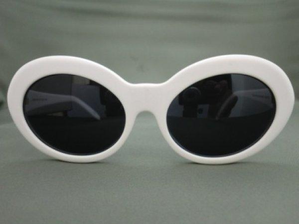 画像2: CHRISTIAN ROTH  ヴィンテージサングラスフレーム 6558 ホワイト カートコバーン愛用モデル