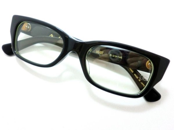 OliverGoldsmith オリバーゴールドスミス メガネ MUST ブラック 限定生産セルロイド製